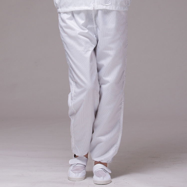Antistatic Pants Polyester ESD Clean Room Clothes Workwear Pants