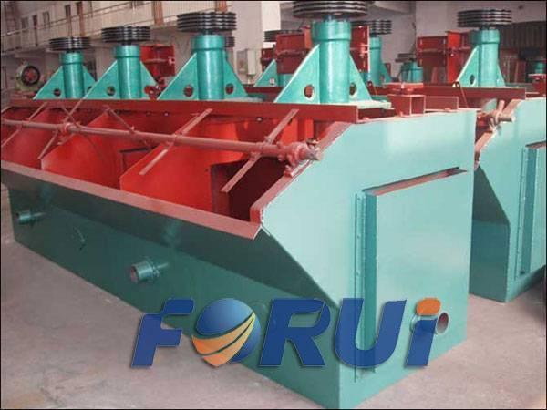 copper/fluorite ore floatation separator