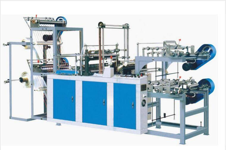 LC-B1100 T-SHIRT BAG,FLAT BAG ROLLING BAG MAKING MACHINE (with paper core)