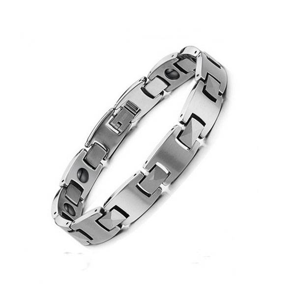 Deluxe handmade fashion couple germanium tungsten bio bracelet