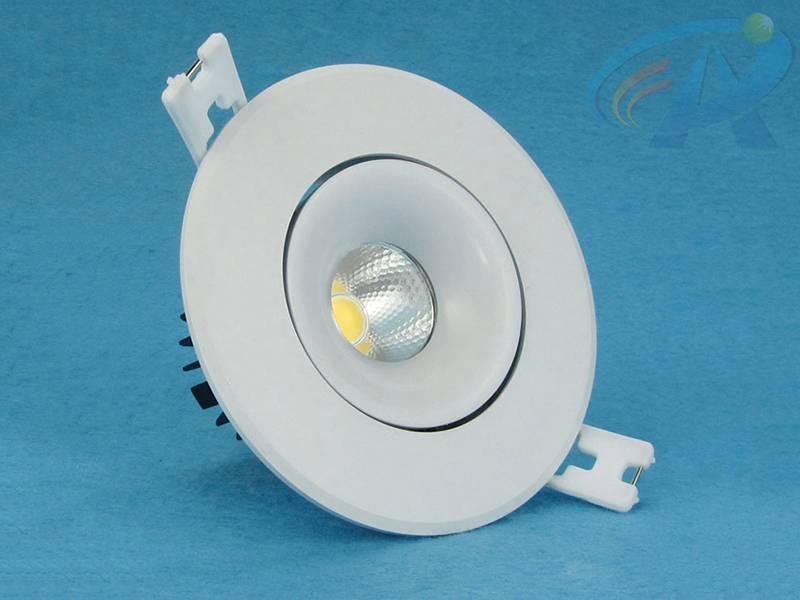 5-7W Cold Forging Aluminum Radiator COB LED Ceiling Light