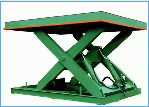 static hydraulic cargo lift