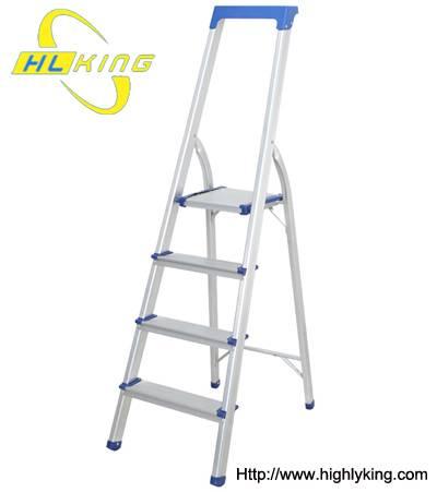 Aluminium folded home ladder(HH-504)