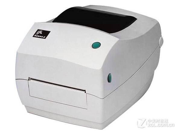 Zebra R2844-Z Passive RFID Card Label Barcode Printer Encoder
