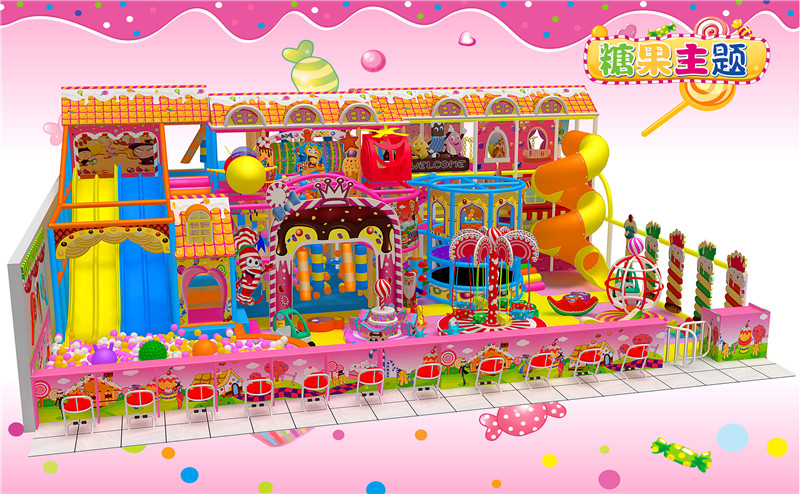 Manufacturers Amusement Center Wholesale Customized Kid Indoor Playground