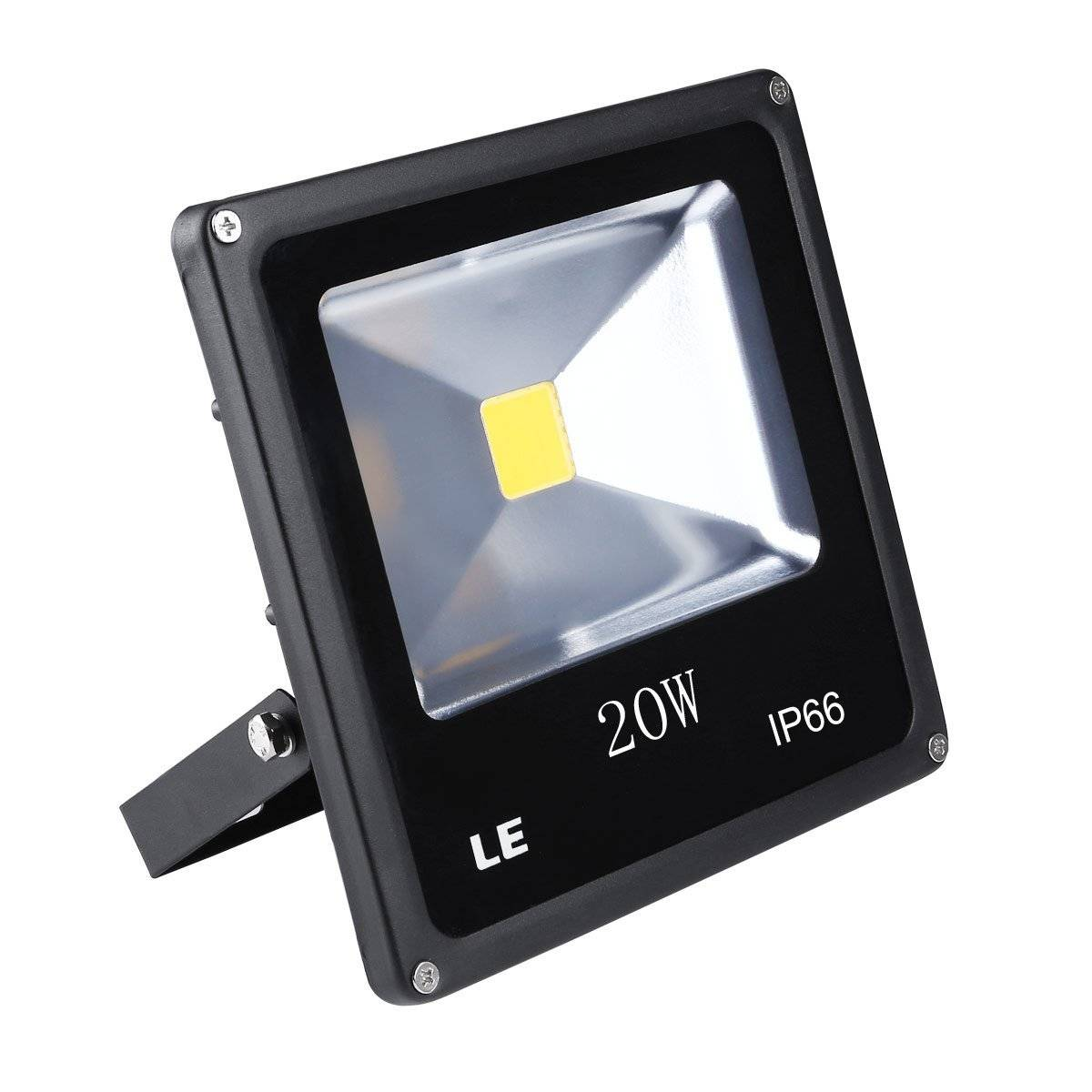 20W Super Bright Outdoor LED Flood Lights, 200W Halogen Bulb Equivalent