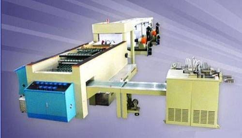 CHM-A4 sheeting and wrapping machine