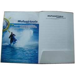 Folder for catalog printing