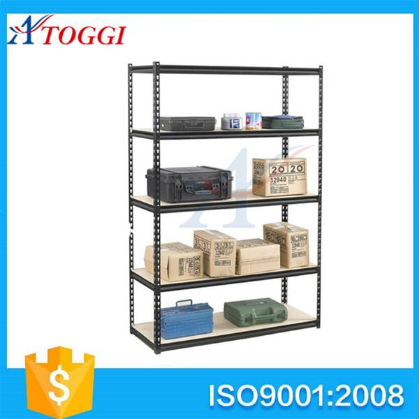 light duty steel slotted angle storage shelf racks
