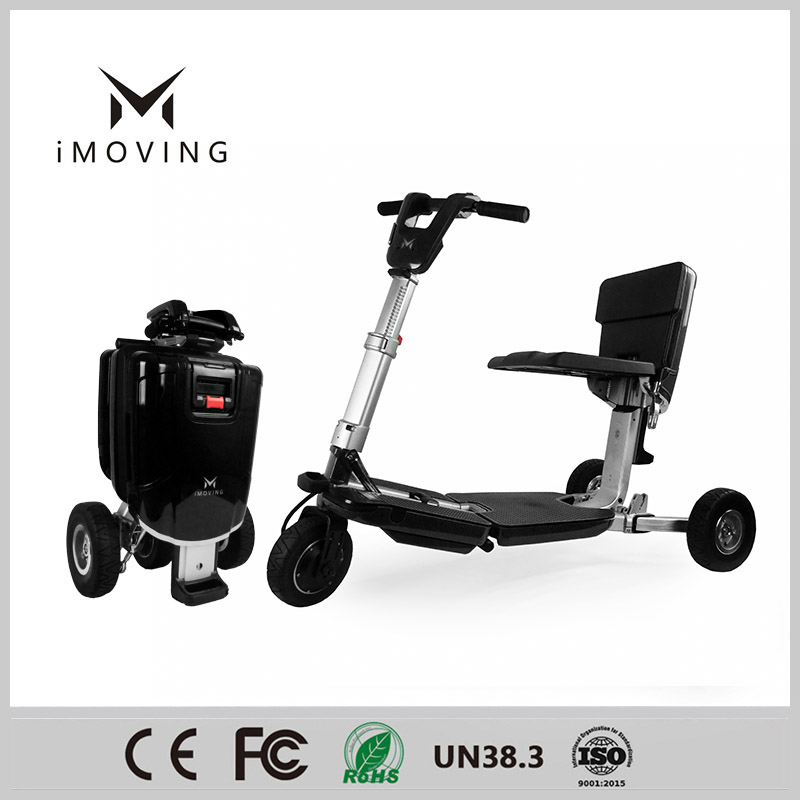 iMOVING X1 Tricycle Smart Folding Electric motor Scooter Electric Vehicle