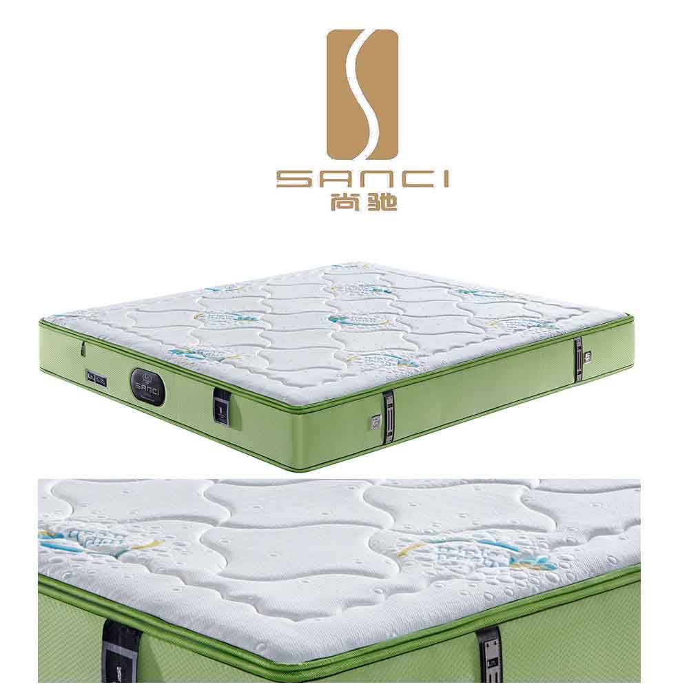 Bedroom Furniture Anti-Mites Orthopedic Wellness Mattresses for The Youngth Directly From Manufactur