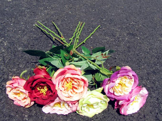 Wedding Decoration Rose Artificial Flowers Romantic Date /Party Sending Roses Silk Flower Bouquet