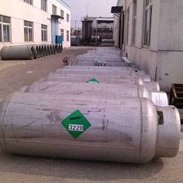 High Purity refrigerant gas r125