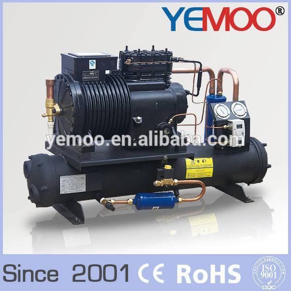 Hangzhou Yemoo Copeland 8HP Cold Room Refrigeration Water Cooled Condensing Unit