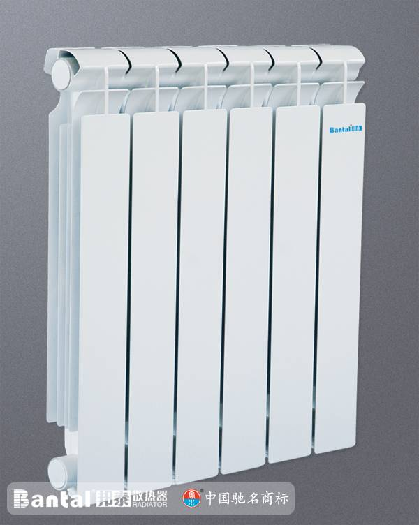 die-cast aluminum radiator for water heating system