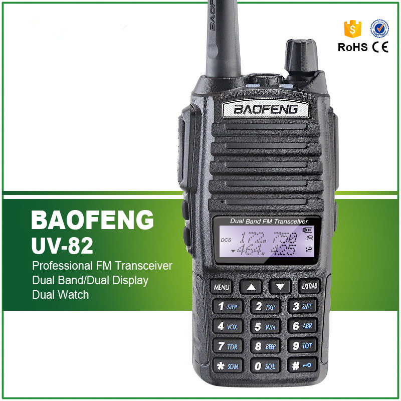 NEW BAOFENG UV-82 with double PTT Launch Key amateur radio