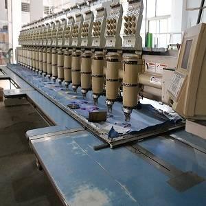20 heads barudan embroidery machine
