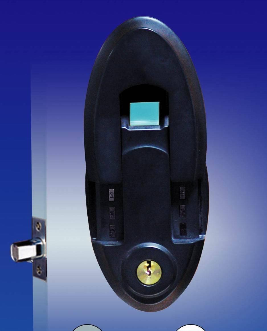 fingerprint door lock   biometric door lock & keyless door lock #6600-301