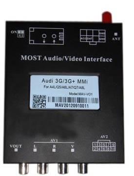 MOST Audio Video Interface for Audi 3G/3G+/4G MMI MAV-F02AD