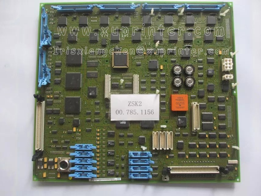 Heidelberg Flat Module ZSK2,00.785.1156, Heidelberg circuit board, Heidelberg press parts