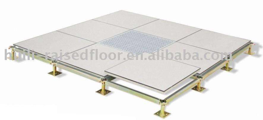 PVC/HPL finished calcium sulphate raised floor