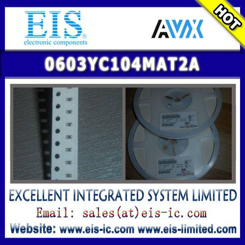 0603YC104MAT2A - AVX - MLCC with FLEXITERM General Specifications