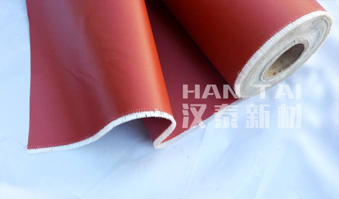 SILICON RUBBER FIBERGLASS FABRIC