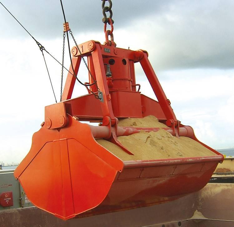 Metal,waste iron loading hydraulic orange peel grab bucket