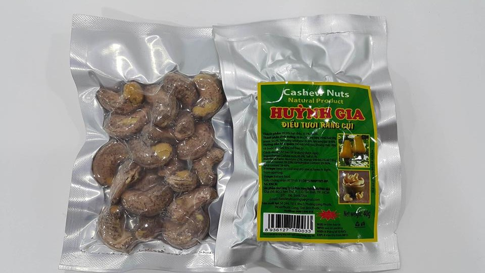 Salted Cashew Nuts 100g