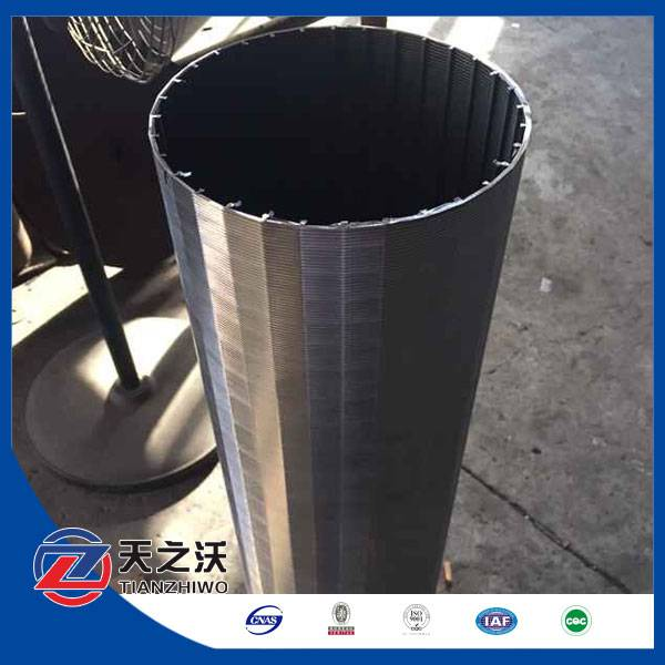 galvanized continue slot screen johnson pipe from Lida factory