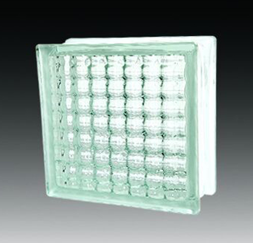Crystal parallel clear glass block building decoration