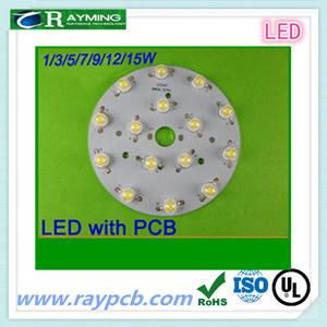 For LED bulb 12v round pcb board factory