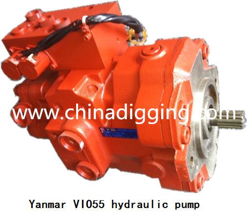 Yanmar VIO55 excavator hydraulic pump main pump assy