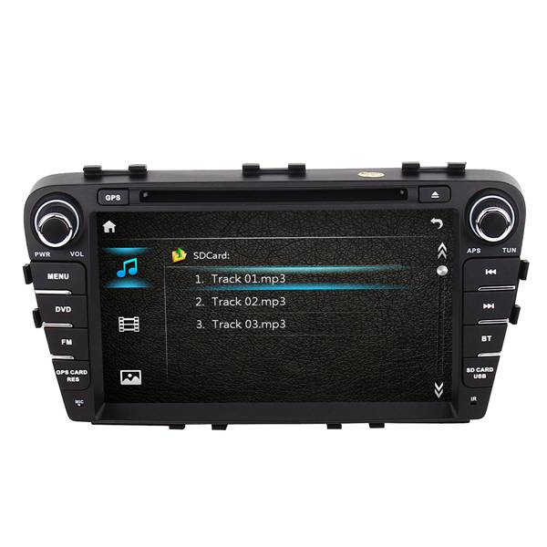 Car DVD GPS navigation system for JAC Refine S5