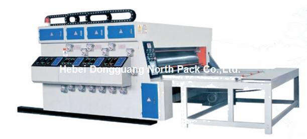 Water Ink Printing Slotter Machine