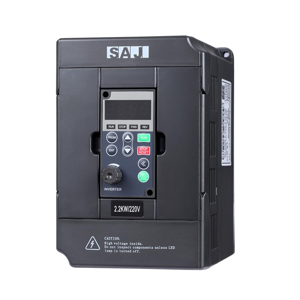 SAJ 380V 5.5KW 7.5HP IP20 Enhanced Frequency Inverter for