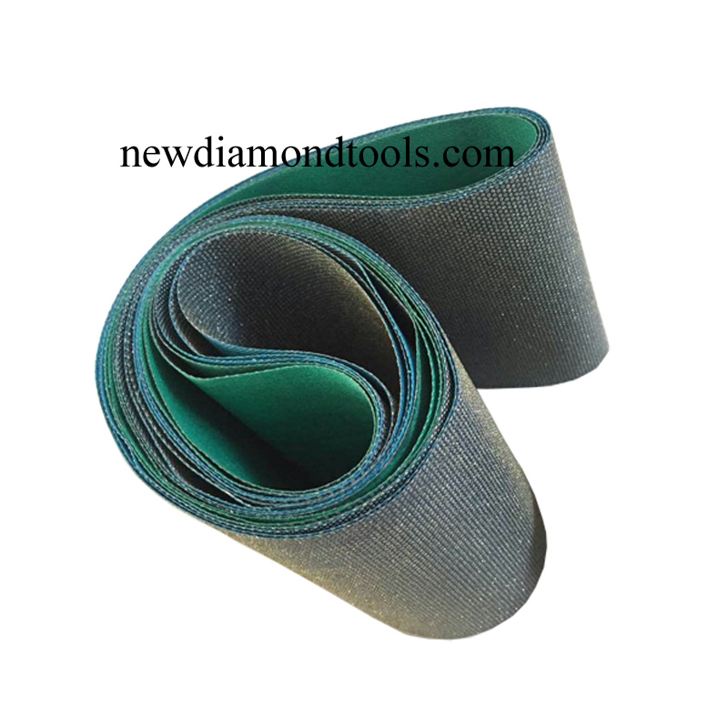 CBN grinding belts