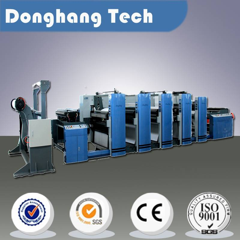 flexo printing machine for paper packaging