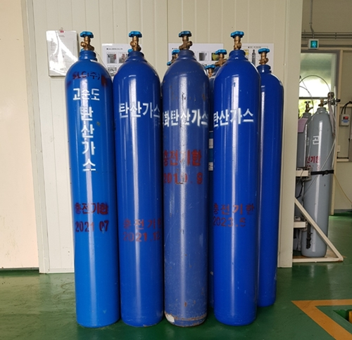High Quality Gas Carbon Dioxide(Co2) from F.R.D in South Korea