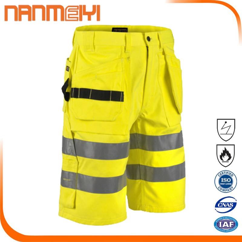 Work trousers with pockets Safety Cargo Shorts