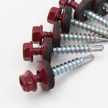 OEM factory Din7504K roofing screw with different coating
