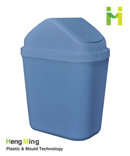 10L household plastc trash can