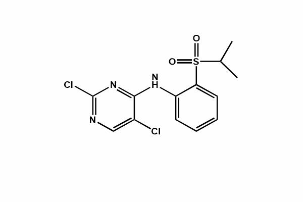2,5-dichloro-N-(2-(isopropylsulfonyl)phenyl) pyrimidin-4-amine