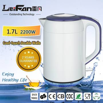 deluxe 1.7L color painting electric kettle