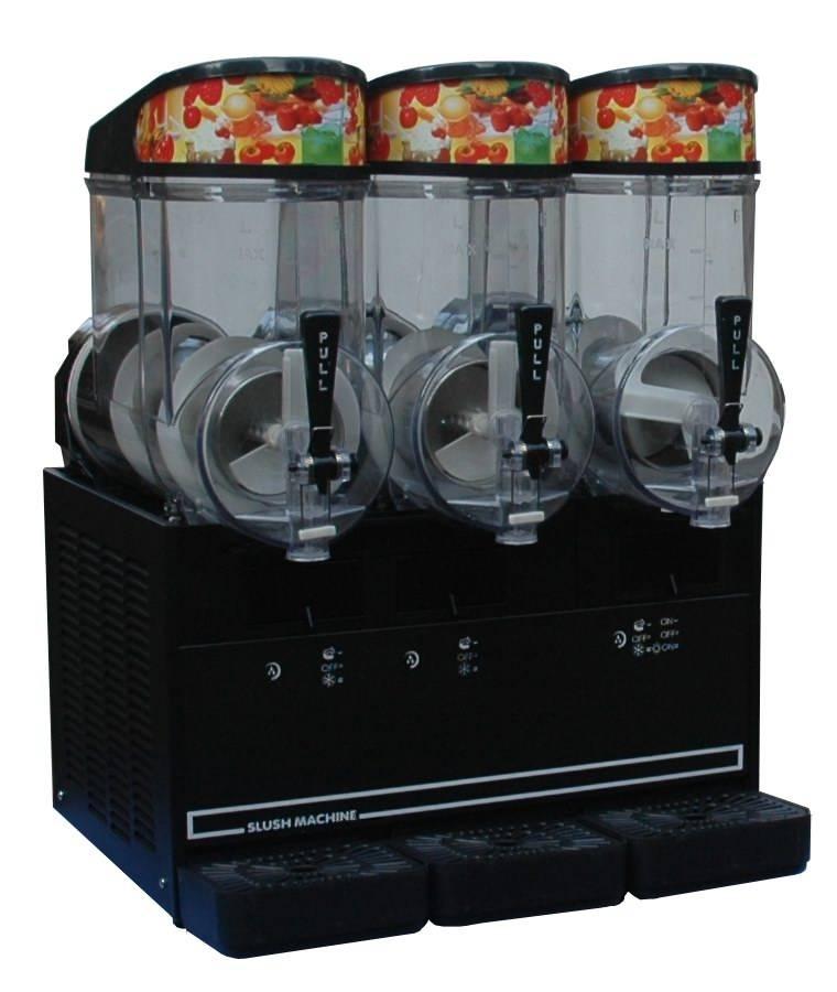 Cold Fruit Juice Dispenser with 3 Tanks