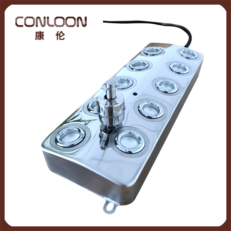 7L Per Hour Cheap 10 Head Ultrasonic Mist Maker With Power Supply