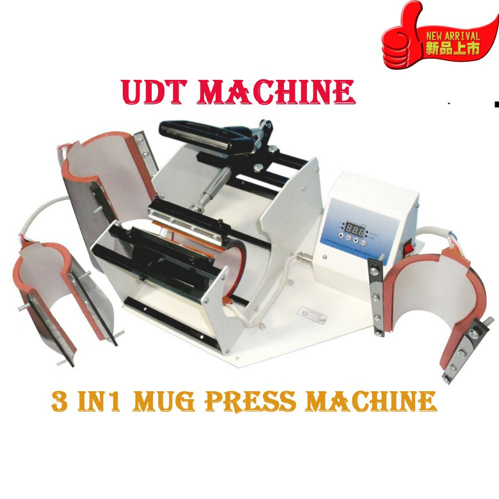 Advanced DIY 3 In 1 Mug Sublimaton Machine Cup press +CE Combo New Mug Press DIY Cup Digital Machine