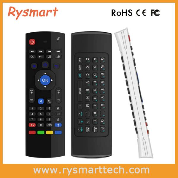 RF 2.4G airmouse remote control MX3-3