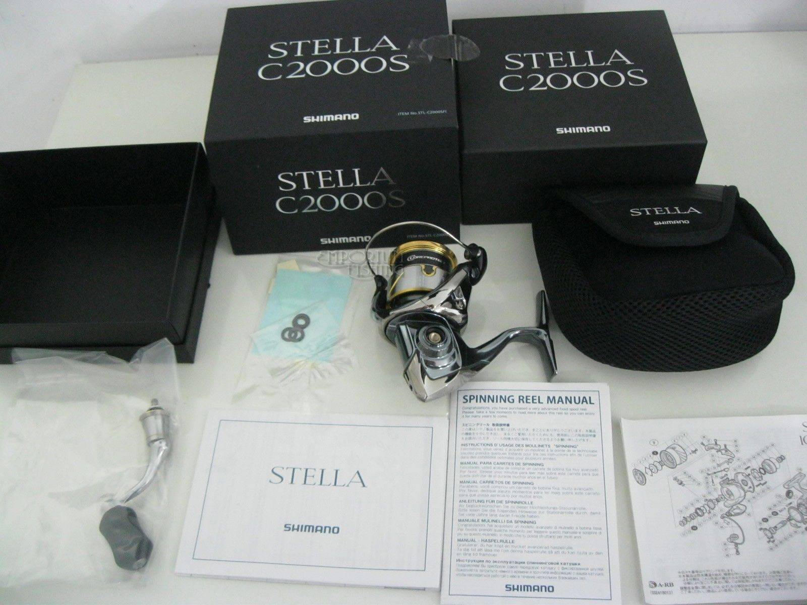 New Shimano STELLA C2000S Spinning Reel 2014