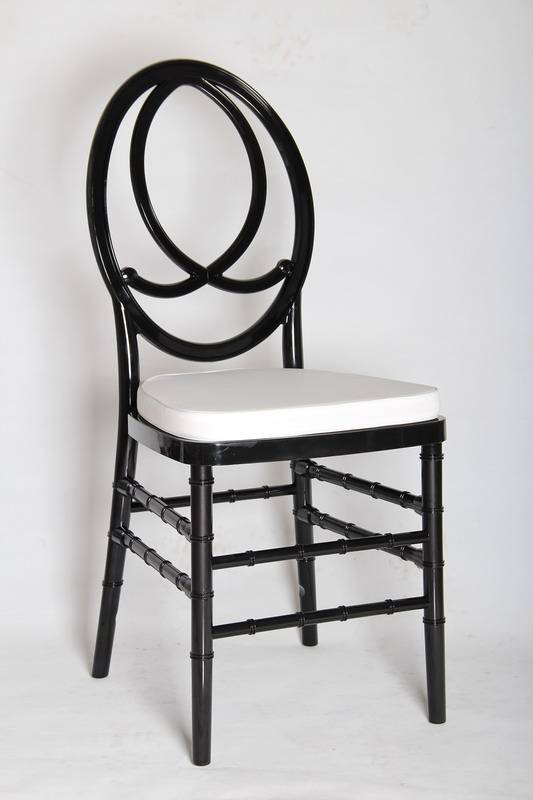Polycarbonate Black Phoenix Chair